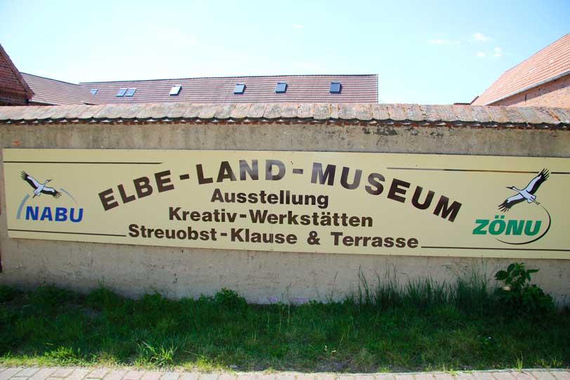 Elbe-Land-Museum, Eingang
