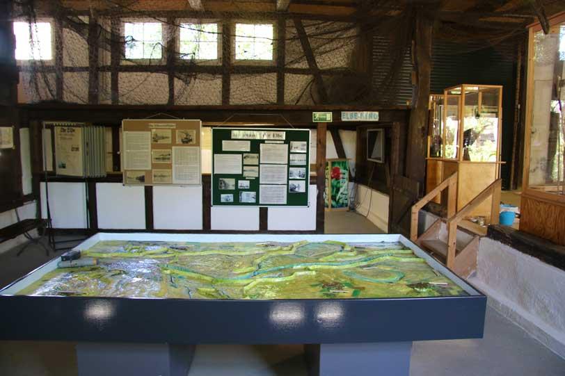 Elbe-Land-Museum, Flutsimulation